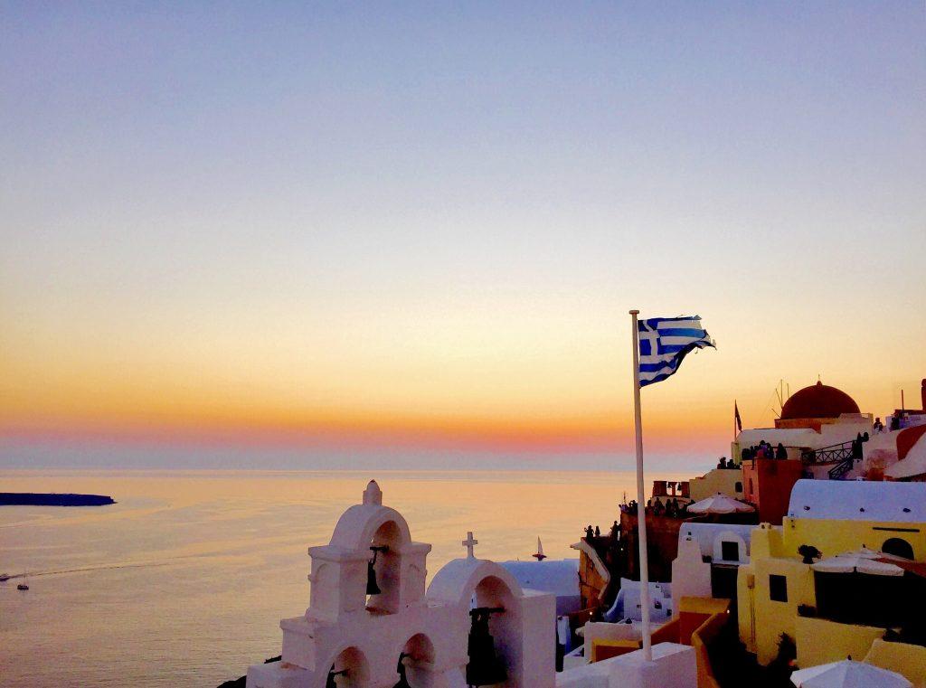 Az erő sötét oldala … Santorini